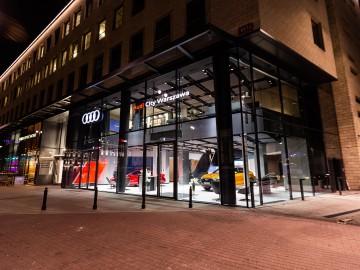 Audi City Warszawa, czyli wirtualny salon Audi
