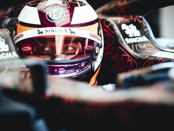 Alfa Romeo Racing w Walentynki na torze