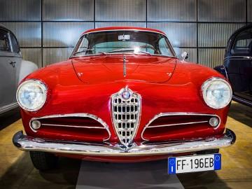 Alfa Romeo podczas 1000 Miglia 2019