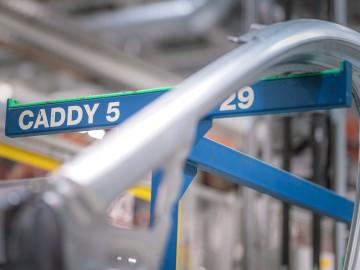 VW Caddy 5 – Przygotowania do produkcji