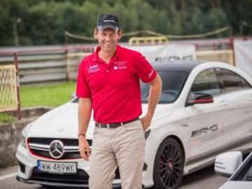 Mateusz Kusznierewicz w AMG Driving Academy