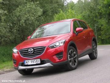 Mazda CX-5 2.5 Skyactiv-G 4x4 - Wbrew trendom