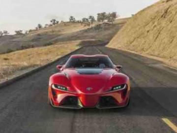 Toyota FT-1 – Zapowiedź Supry?