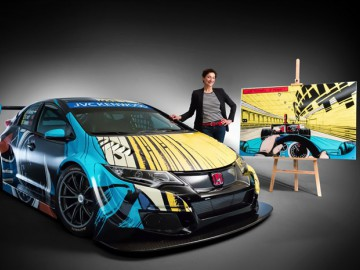 Honda Civic WTCC w nowych barwach