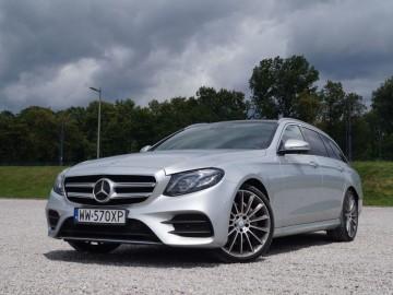 Mercedes Benz E220d W213 kombi 9G-Tronic – Elegancja i blichtr