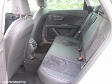 Seat Leon ST FR 2.0 TDI – Nie Cupra, ale...