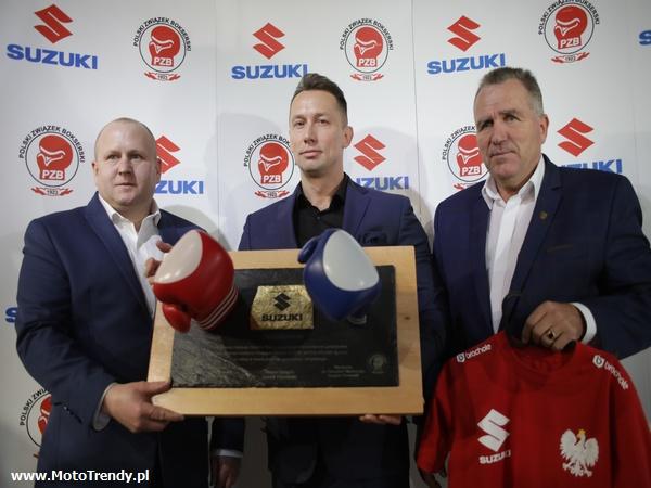 Suzuki wspiera polski boks