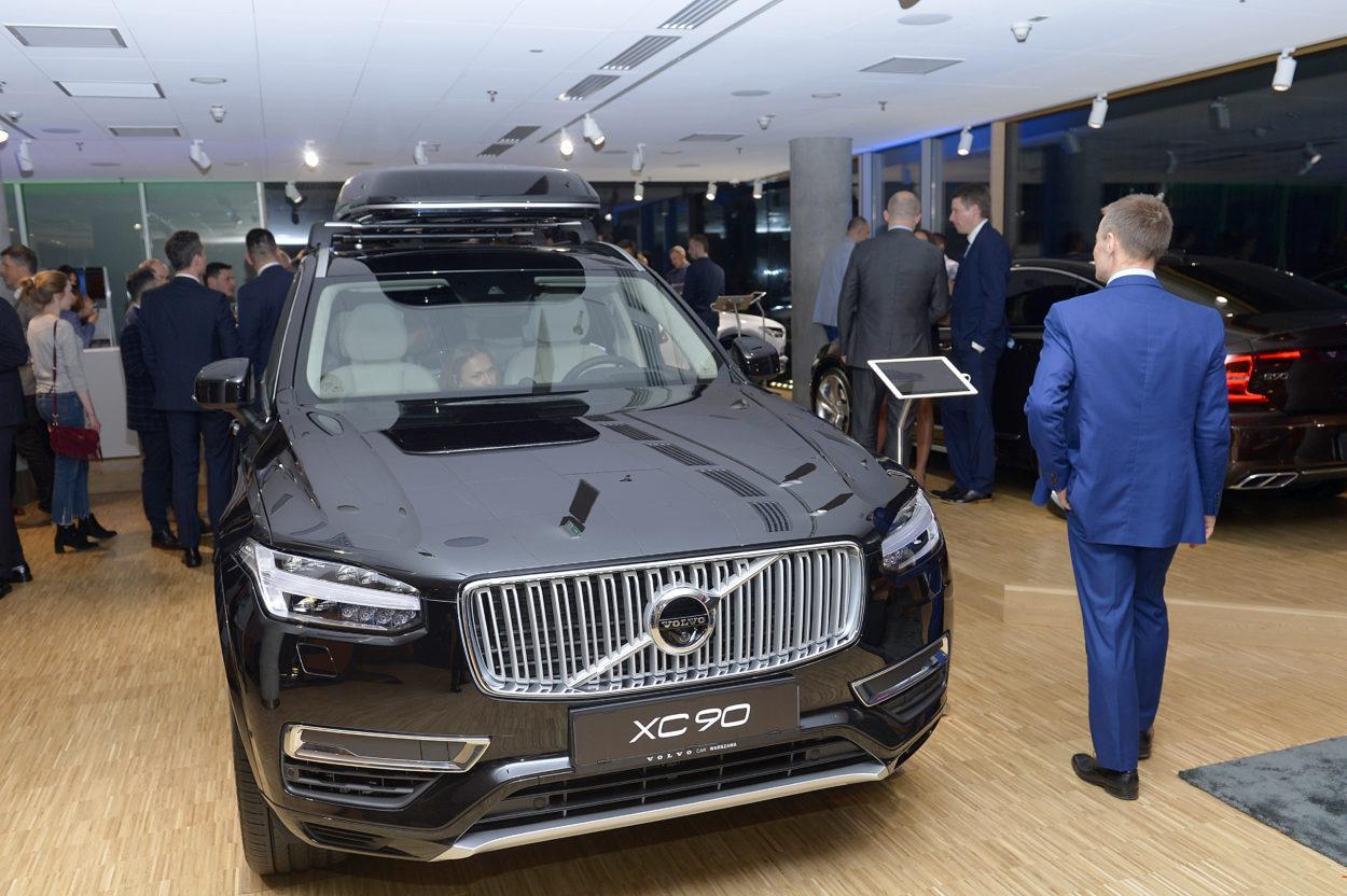 Otwarcie Volvo Car Warszawa
