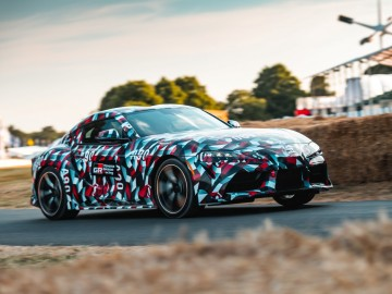 Toyota Supra zadebiutowała na Goodwood Festival of Speed