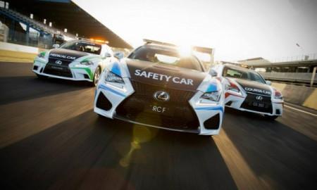 Lexus RC F - Samochodem bezpieczeństwa serii V8 Supercars