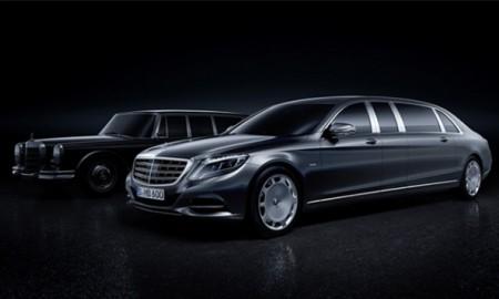 Mercedes-Maybach Pullman – Majestat limuzyny