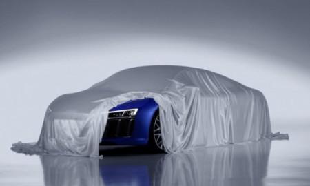 Audi R8 z laserowymi reflektorami