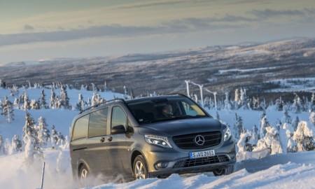 Mercedes Vito 4x4 – Lepsza trakcja nie tylko w zimie