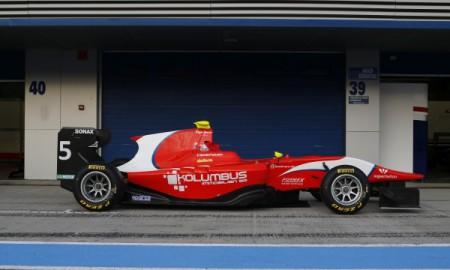 Pierwszy Polak w GP3