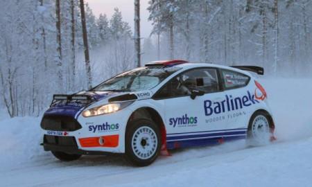 Michał Sołowow w 50. Arctic Lapland Rally