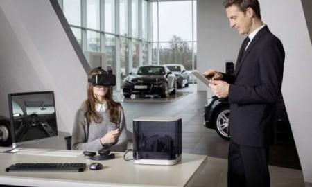Audi VR experience - salon samochodowy w okularach