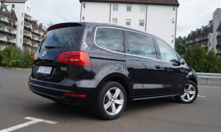 VW Sharan 2.0 TDI 4Motion Highline - Niełatwa sprawa