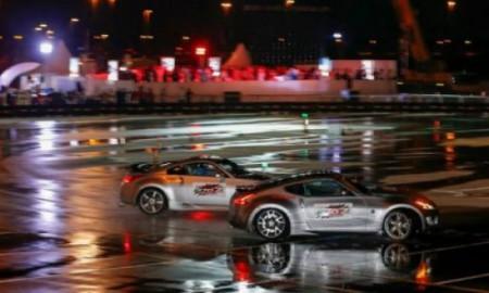 Nissan 370Z - Najdłuższy drift w tandemie