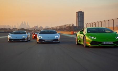 Lamborghini Accademy w Dubaju