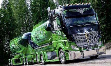 Mercedes Actros 2551 – Jadowity bohater autostrad
