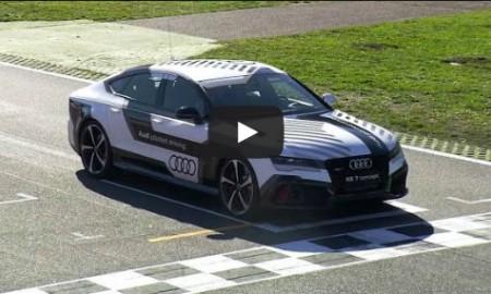 Audi RS7 bez kierowcy