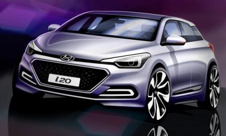 Nowy Hyundai i20 na szkicach