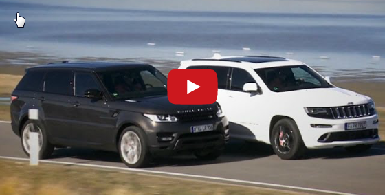 Range Rover Sport vs Jeep Grand Cherokee SRT