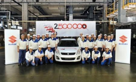 2,5-milionowe Suzuki z węgierskiej fabryki
