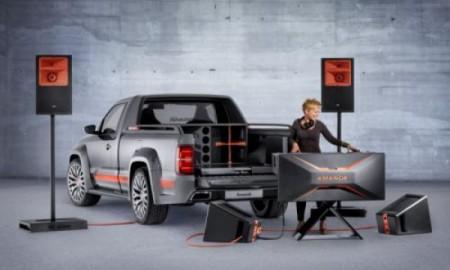 VW Amarok Power-DJ - Głośniki, miksery i 5000 Wat