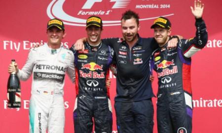 Daniel Ricciardo wygrał Grand Prix Kanady
