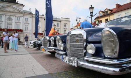 Zabytkowe Mercedesy w Płocku