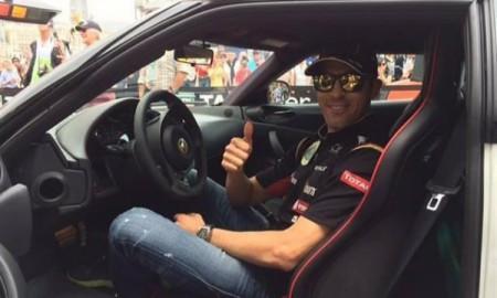 Pastor Maldonado dostał nowego Lotusa Evora S
