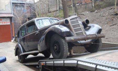 Renowacja Cadillaca  Marszałka Piłsudskiego