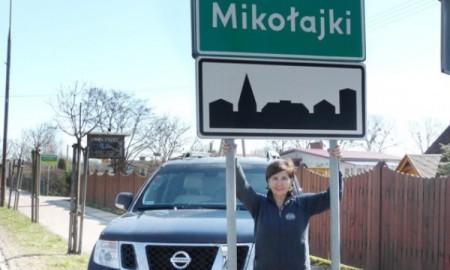 Michèle Mouton zapoznała się z trasą Rajdu Polski