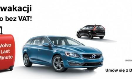 Volvo – do wakacji znów bez VAT