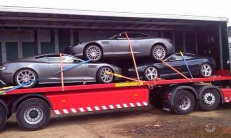 Aston Martin w drodze do salonu
