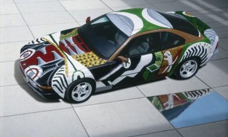 BMW Art Car podczas Paris Photo Los Angeles