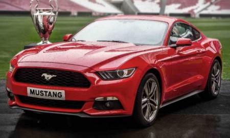 Ford Mustang – gwiazdą finału Ligi Mistrzów