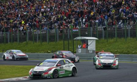 Podwójne podium Hondy na Hungaroringu
