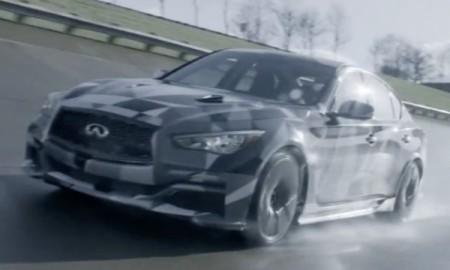 Infiniti Q50 Eau Rouge – Vettel za kierownicą