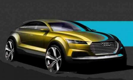 Pierwsze szkice Audi Q4