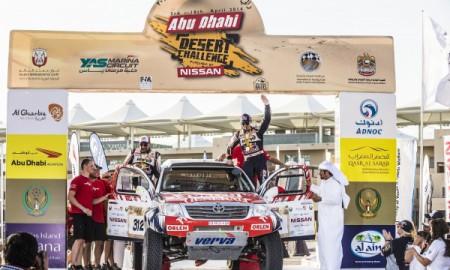 Adam Małysz drugi w Abu Dhabi Desert Challenge
