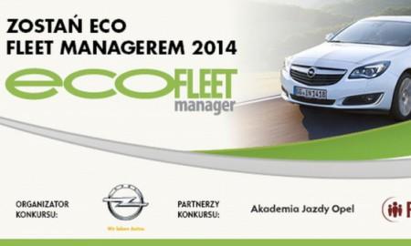 Rusza konkurs Eco Fleet Manager 2014