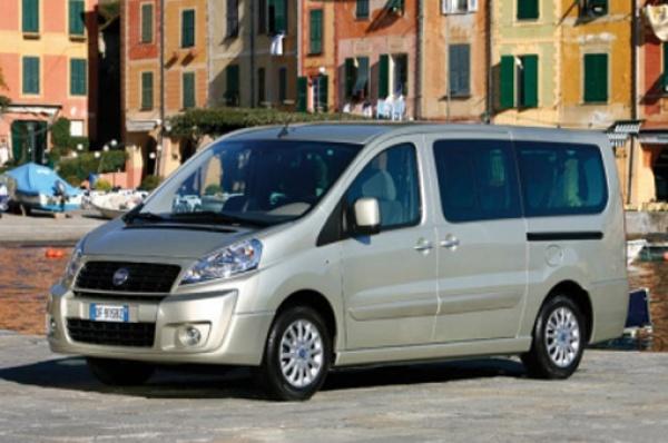 Fiat Scudo z usterką