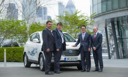 Hyundai ix35 Fuel Cell w kolejnych miastach Europy