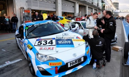 Dreszer nie stanął na podium na Nürburgringu