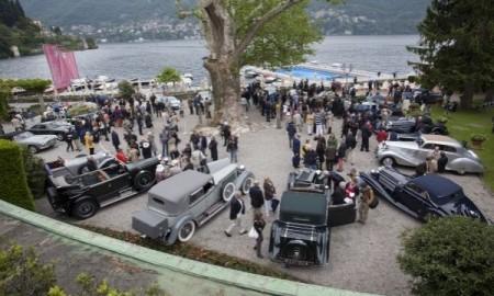 110 lat Spirit of Ecstasy nad jeziorem Como