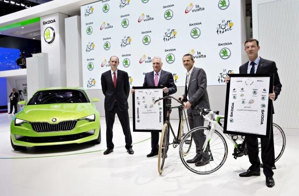 Skoda partnerem Tour de France do 2018 r