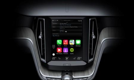 Volvo z Apple CarPlay