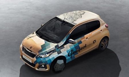 Wytatuowany Peugeot 108